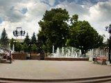 Сквер возле Тульский государственный академический театр драмы имени М. Горького
